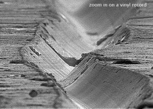 vinyl record visualization