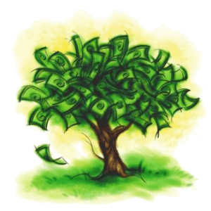visualization money tree